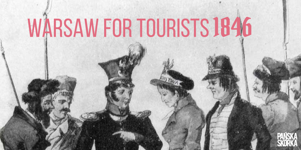 WARSAW FOR TOURISTS. 1846.